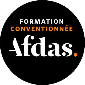 Logo formation conventiionnée Afdas